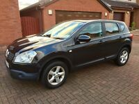 57 Reg: Nissan Qashqai 1.6 Acenta, Service (inc Antifreeze) and Full Years MOT, drive away today