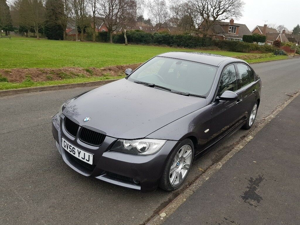 BMW 320D MSPORT 3 SERIES ONLY 67K MILEAGE E90 GREY GRAY
