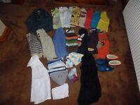 Bundle of Boys Clothes 4-5 yrs