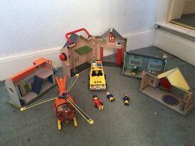 Fireman Sam vehicles/buildings