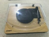 ION Audio Classic LP 3-Speed Belt-Drive Turntable with USB Digital Conversion - Wood