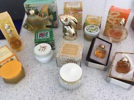 Vintage Avon & Tweed perfumes