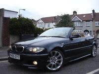 /// BMW 330CI 3.0 M SPORT CONVERTIBLE/CABRIOLET /// FACELIFT 55 PLATE /// CHEAPPP /