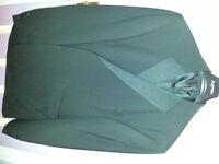 Tuxedo Suit Black 48R Chest 38S Leg *NEVER WORN*