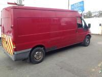Ford transit lwb just out of mot