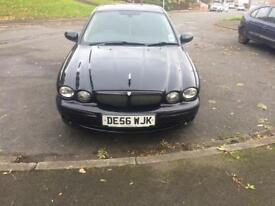 Black Jaguar X type 2.2 D sport