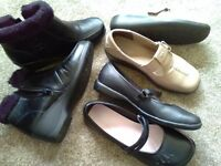Ladies size 3 shoes and boots