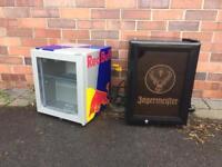 Red Bull and Jäger mini fridges