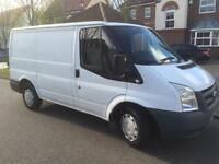 2 X Ford transit van 2007 BARGAIN BETTER THEN IVECO VW MERC RENAULT TRAFFIC CHAIN DRIVEN ENGINE