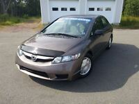 2010 Honda Civic $88.00 BI-WEEKLY FOR 60 MONTHS O.A.C.-|REAL CLE