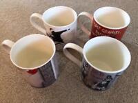 Banksy mugs x4