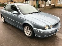 Jaguar X-Type XS LE D 1988cc Turbo Diesel 5 speed manual 4 door saloon 05 Plate 31/05/2005 Blue