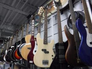 We Buy and Sell All Types Of Guitars! We Take and Sell From Electric, Bass, Acoustic, Ukulele and More!