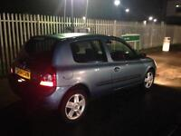 2004 04 Renault Clio 1.2 16v Dynamic immaculate