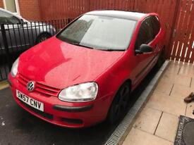 Volkswagen Golf 1.4 2007 (57 Reg), Low Milage, MOT