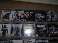 Various Play Station 3 Games For Sale £3 Each