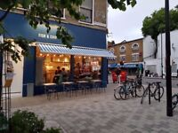 Full and part-time waiter / waitress needed for new Fish and Chips restaurant in Camberwell, London