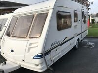 very condition Sterling Europa 500/5 5 Berth 17ft with full awning lots of extras