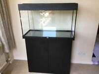 Juwel Rio 125l tank, cabinet, heater, lighting, external filter and much more
