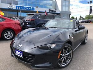 2016 Mazda MX-5 GT, ONLY 11K, TOP OF THE LINE