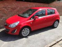 VAUXHALL CORSA CDTi ECOFLEX 2011 REG LONG MOT, FULL HISTORY, HPi CLEAR, £30 A YEAR TAX WITH AIR CON