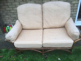 Bamboo sofa in good condition