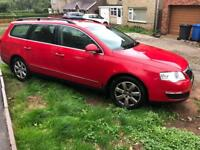 VW Passat 4 motion diesel spares or repairs 2007