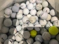100 Used Golf Balls - Saltford