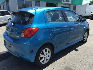 2014 Mitsubishi Mirage LIKE NEW l 7,000km l HEATED SEATS Kitchener / Waterloo Kitchener Area image 4