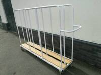 Mobile timber trolley/rack