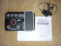 Zoom G2.1u Guitar pedal Multi FX & AMp Modeller