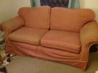 3 seater sofa in need of TLC and a good home