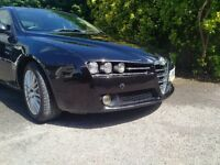 Alfa Romeo 159, black, 2010, 1.75 tbi, 200 bhp, lowest mileage, keenest price for a quick sale