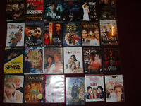 job lot of dvd films and some videos of only fools and horses.