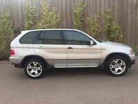 BMW X5 3.0 + DIESEL + SPORT + 2003 53 + AUTOMATIC + SILVER
