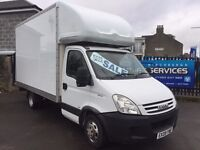 IVECO DAILY 2.3 TD LUTON LWB IMMACULATE CONDITION SERVICE HISTORY LOW MILES TURBO DIESEL REMOVAL