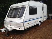 Swift lifestyle 2002 2 berth with moter mover &a awning
