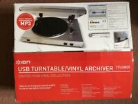 Turntable/vinyl archiver