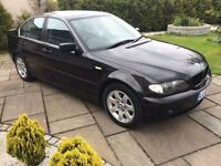 Bmw 320 2003 facelift model black
