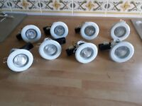 Electrical Cooker Socket, 3 x Isolation Switches, 3 x Twin Sockets & 8 x Downlighters.