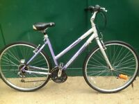 Giant Cypress Ladies bike Hybrid cycle Commuter, Town Bicycle
