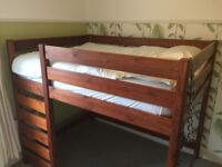 King Sized Solid Wood Loft Bed