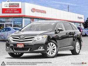 2015 Toyota Venza Toyota Certified One Owner, Toyota Serviced