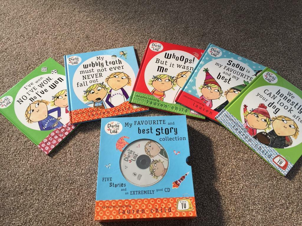 Charlie and Lola my favourite and best story collection boxed with audio cd  box set | in Taverham, Norfolk | Gumtree