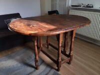 Dining Table Drop Leaf Gate Leg