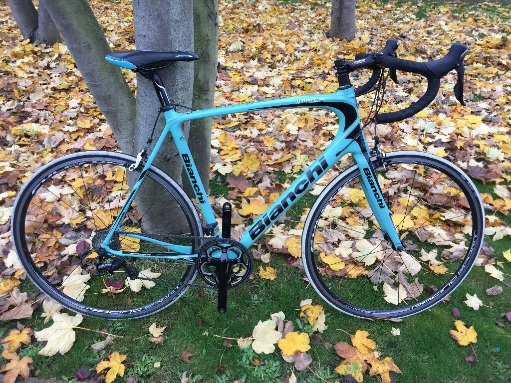 edf65a870e4 Full Carbon Bianchi Intrenso 105 Road Bike Less Then 100 Miles From New