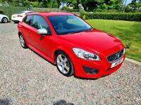 2011 VOLVO C30 D2 (115) R DESIGN £30 ROAD TAX