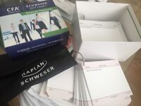 CFA Level 1 Schweser notes, Practice exams, Workbooks, Secret Sauce (all 2016) and Flashcards 2017