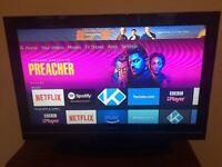 "Toshiba 32"" TV including Amazon Fire Stick"