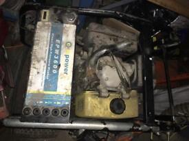 Diesel portable pressure washer - no lance /gun